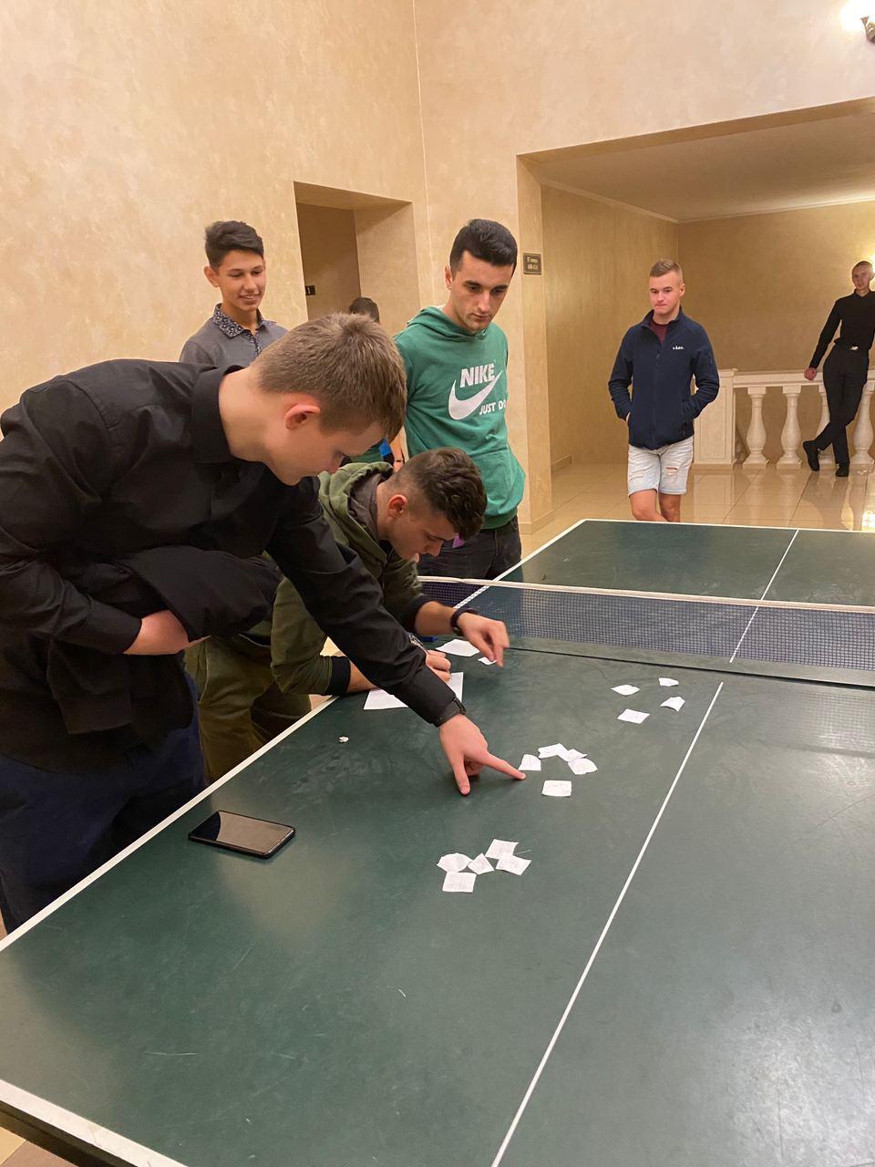 Семінарійний турнір з настільного тенісу
