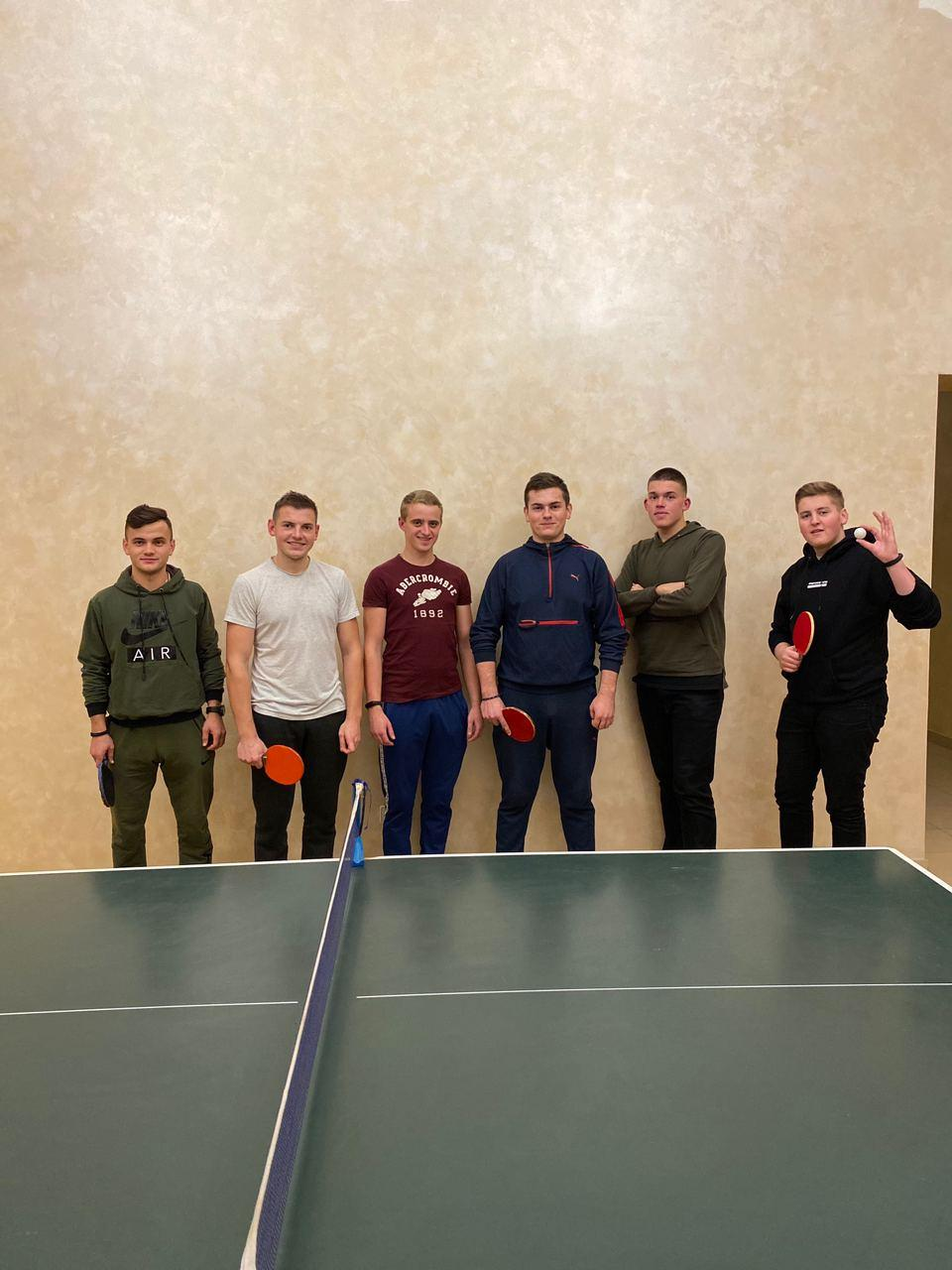 Завершення семінарійного турніру з настільного тенісу