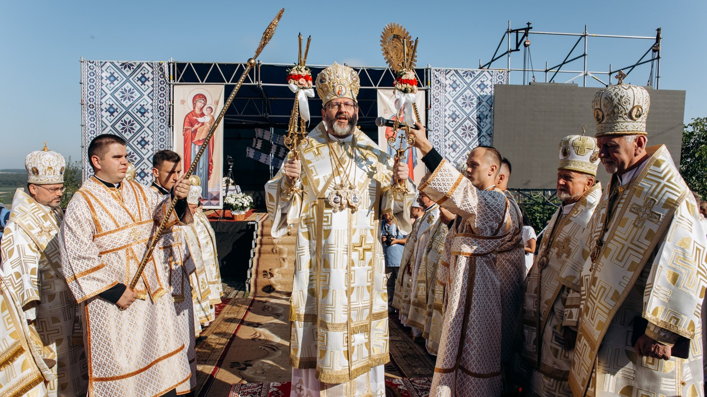 Архієрейською Божественною Літургією в Крилосі завершилася Всеукраїнська Патріарша проща