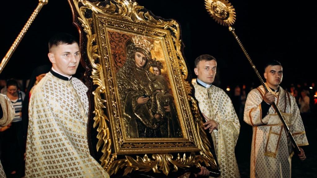 Владика Йосафат Мощич очолив Вечірню в рамках Патріаршої прощі в Крилосі