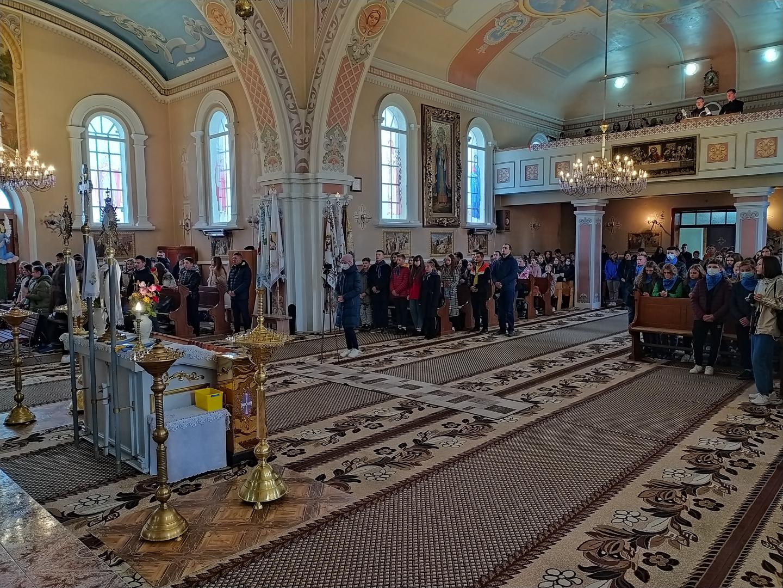 В Івано-Франківській Архієпархії відбувся з'їзд молоді УМХ